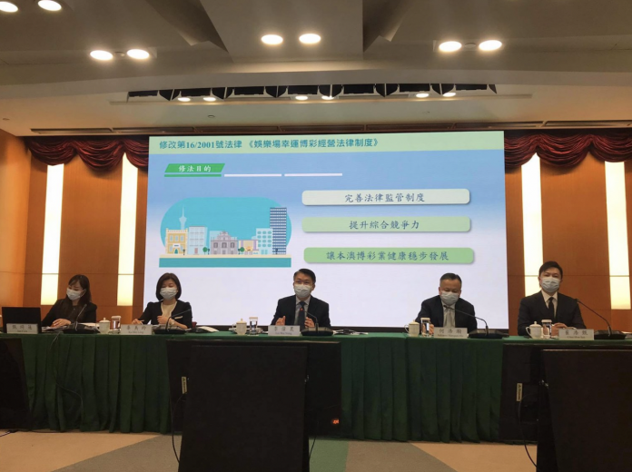 45-day public consultation on gaming law begins; proposed changes include ending casino sub-concessions, appointing gov't delegates to operators and criminalising illicit deposits